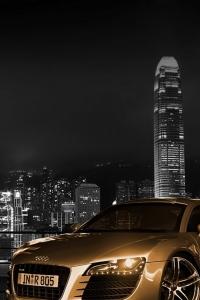 Vorschau Goldenen Wagen Handy Logo