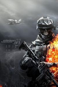 Vorschau Battlefield 3 Zombie Handy Logo