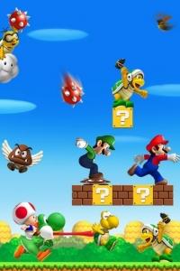 Vorschau Super Mario Handy Logo