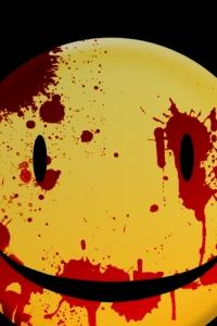 Vorschau Blutigen smiley Handy Logo