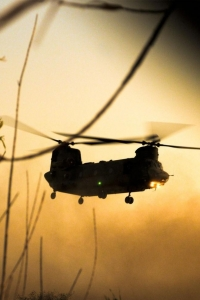 Vorschau Chinook Hubschrauber Handy Logo