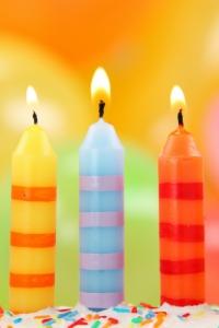 Vorschau Geburtstagskerzen Handy Logo