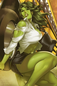Vorschau She-Hulk Handy-Logo