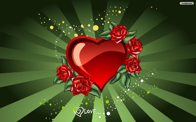 Grünen Herzen Handy Logo Kostenlos Hintergrundbild Auf Dein Handy